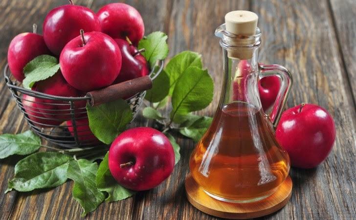 Vinagre de sidra de manzana y te verde