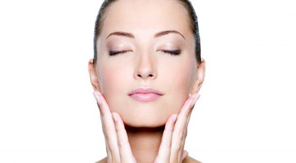 Mujer salud en la piel, rostro, rostro de mujer