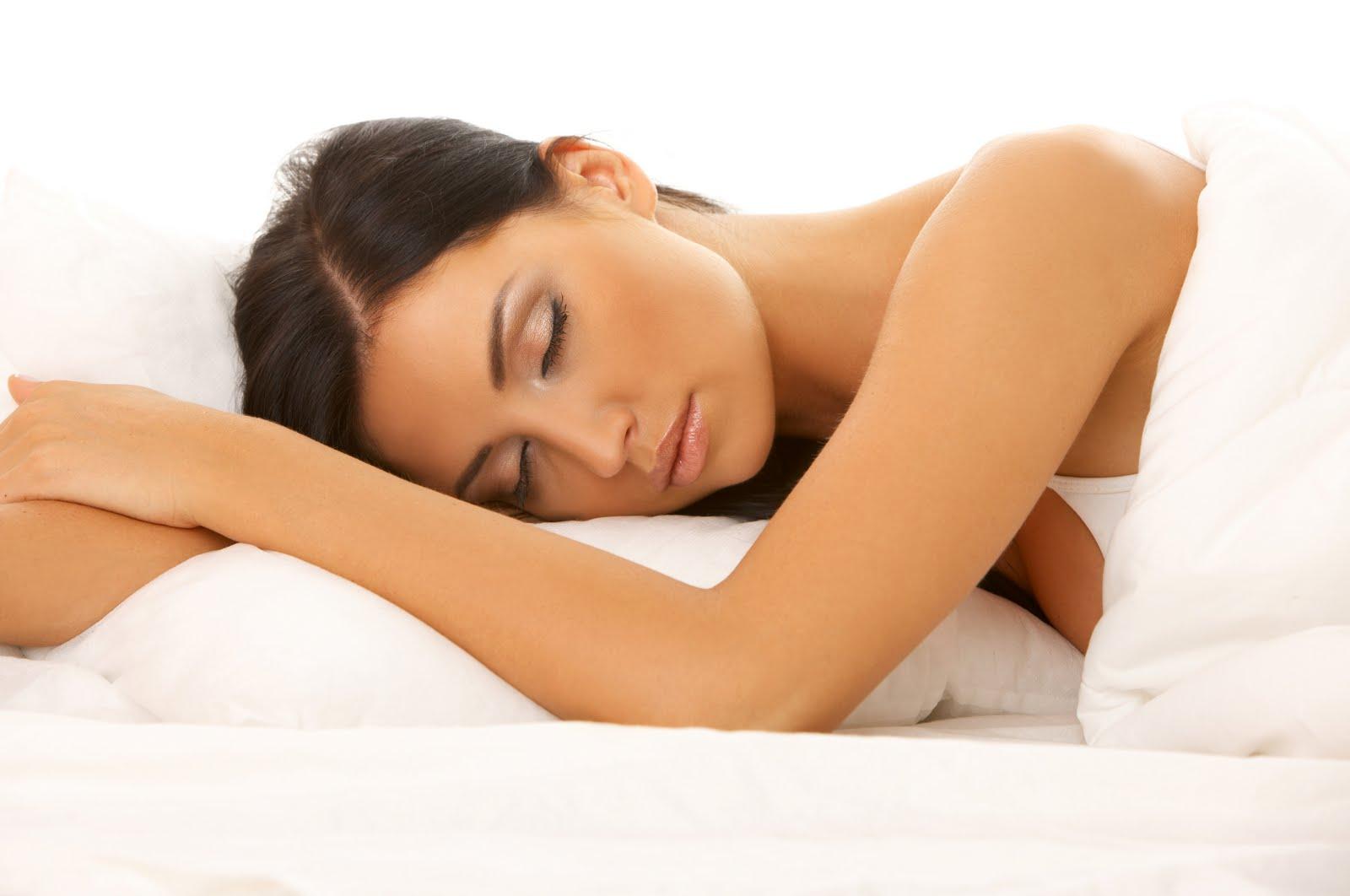 Mujer dormida, dormir, mujer, descanzando