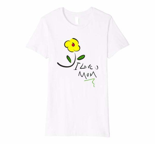 Camiseta Love U Mom - Mujer de Colores Vlog